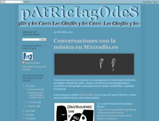 patriciagodes.blogspot.com screenshot