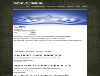 patriciahoffmanphd.com screenshot