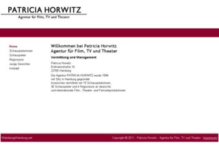 patriciahorwitz.de screenshot