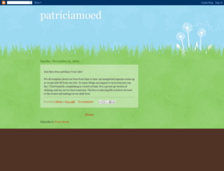 patriciamoed.blogspot.com screenshot