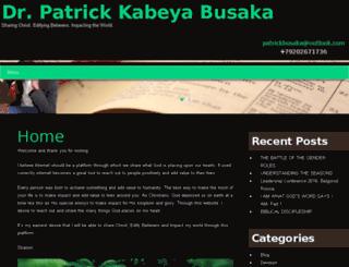 patrickbusaka.com screenshot