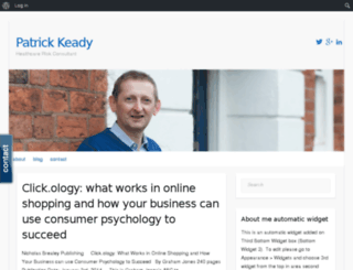 patrickkeady.org screenshot