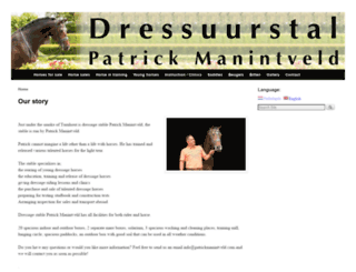 patrickmanintveld.com screenshot