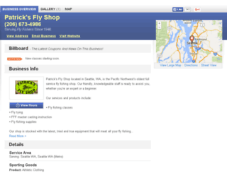 patricksflyshop.net screenshot
