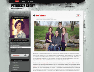 patricksstory.wordpress.com screenshot