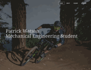 patrickwatson.com screenshot