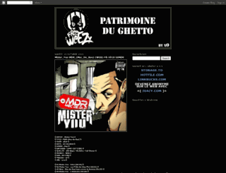 patrimoine-du-ghe2to.blogspot.com screenshot
