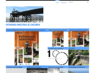 patrimonioindustrialcantabria.wordpress.com screenshot
