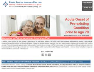 patriotamericainsuranceplan.com screenshot