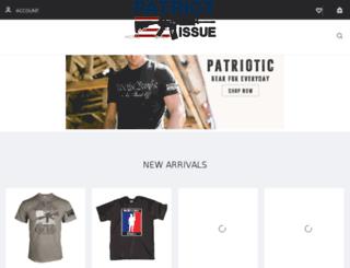 patriotissue.com screenshot
