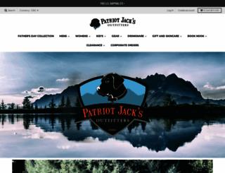 patriotjacks.com screenshot