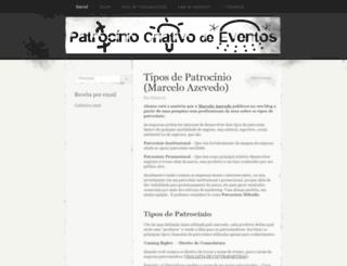 patrociniocriativo.wordpress.com screenshot