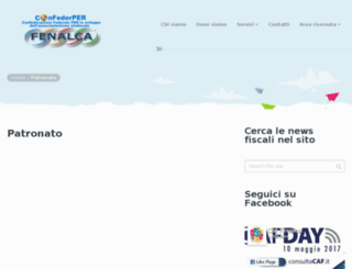 patronatofenalca.it screenshot