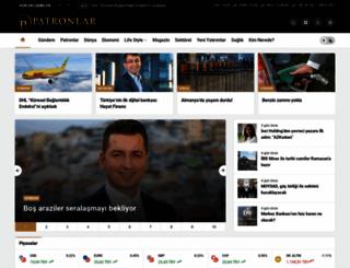 patronlarkulubu.com.tr screenshot