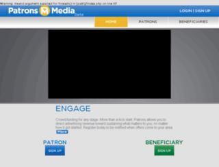 patronsmedia.com screenshot
