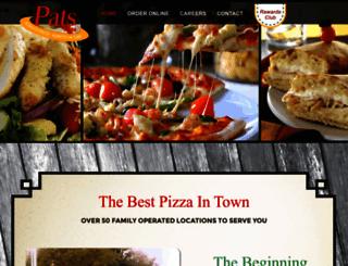 patsfamilyrestaurant.com screenshot