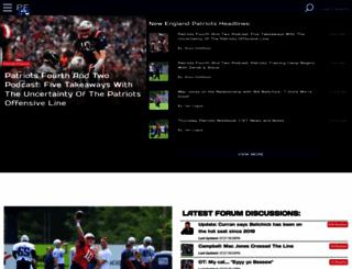 patsfans.com screenshot