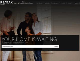 patslack.remax-oklahoma.com screenshot