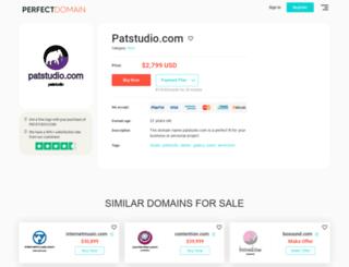 patstudio.com screenshot