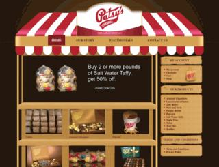patsyscandies.com screenshot