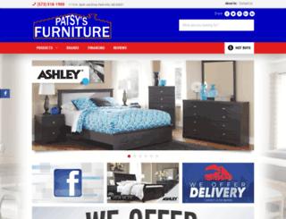 patsysfurniture.com screenshot
