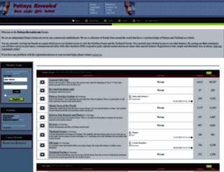 pattaya-revealed.com screenshot