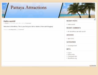 pattayaattractions.com screenshot
