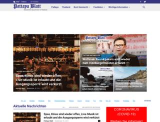pattayablatt.com screenshot