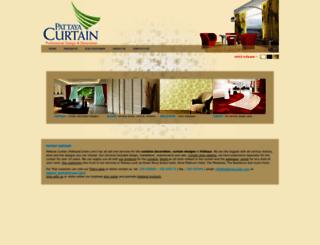 pattayacurtain.com screenshot