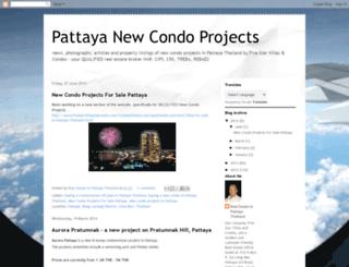 pattayanewcondoprojects.blogspot.com screenshot