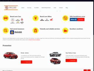 pattayarentacarandbike.com screenshot
