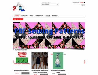 pattern-making.com screenshot