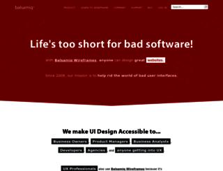 patternapp.mybalsamiq.com screenshot