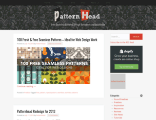 patternhead.com screenshot