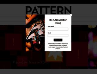 patternindy.com screenshot