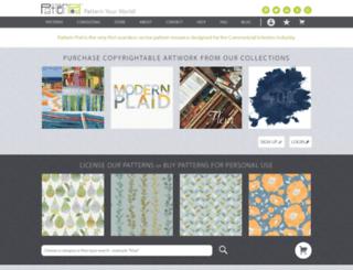 patternpod.com screenshot