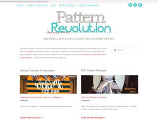 patternrevolution.squarespace.com screenshot