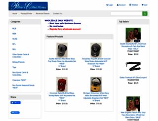 patterscollectibles.com screenshot