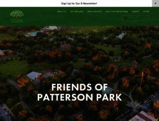pattersonpark.com screenshot
