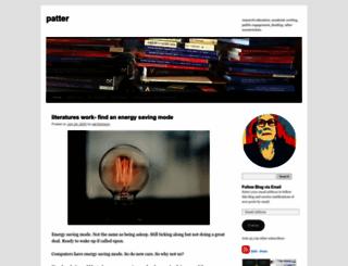 patthomson.net screenshot
