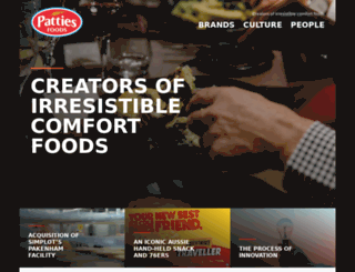 patties.com.au screenshot