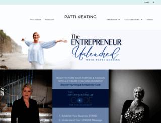 pattikeating.com screenshot