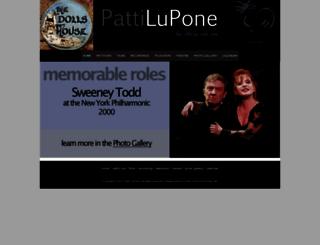 pattilupone.net screenshot