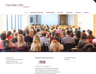 pattimillercmp.com screenshot