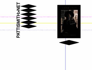 pattismith.net screenshot