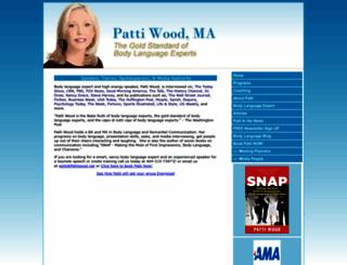 pattiwood.net screenshot