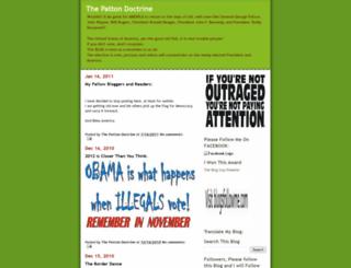 pattondoctrine.blogspot.com screenshot