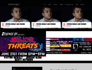 pattonoswalt.com screenshot
