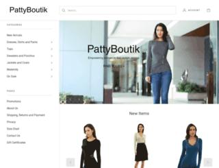 pattyboutik.com screenshot
