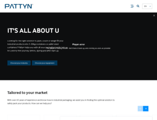 pattyn.com screenshot